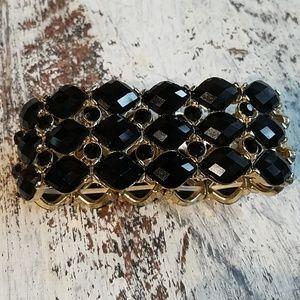 Beautiful Black Stretchy Bracelet